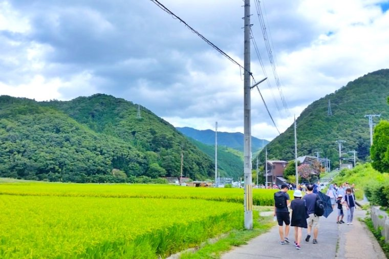 kameoka-torokko-station-from-jr-train-walk-fields-kyoto-